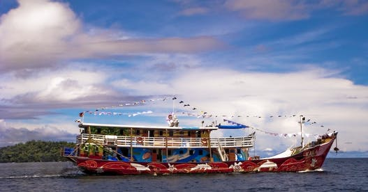 Floating education center empowers next generation in Indonesia
